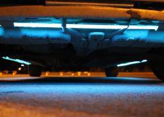 Как правильно установить подсветку днища в авто и не нарваться на наказание?