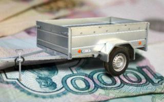 Особенности начисления транспортного налога на прицепы для легковушек