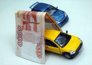 Машинка под деньгами