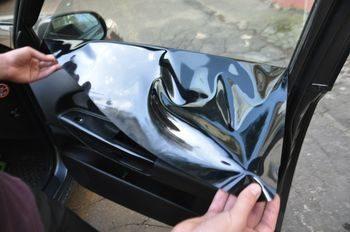 Снятие тонировки стекол автомобиля