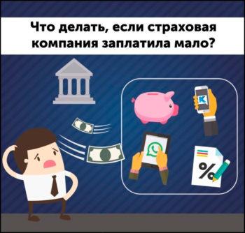 Выплаты страховой компании при ДТП