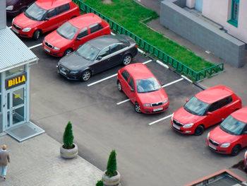 Парковка не по правилам
