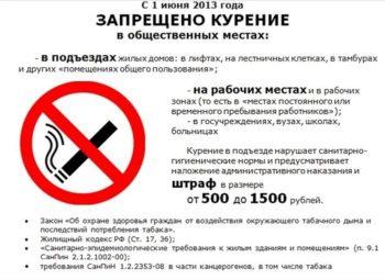 закон о курении