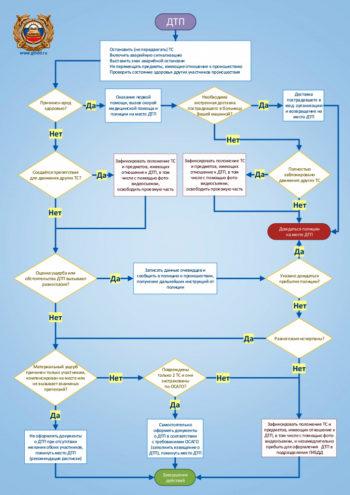 Как оформлять ДТП(схема)
