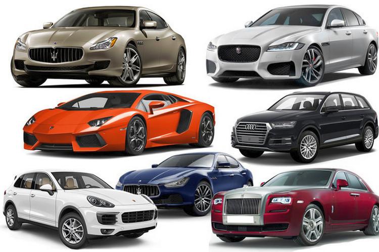 Примеры роскошных авто